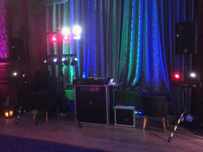 Wedding DJ Lilleshall Hall Shropshire