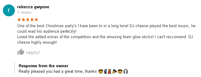 Christmas DJ Review