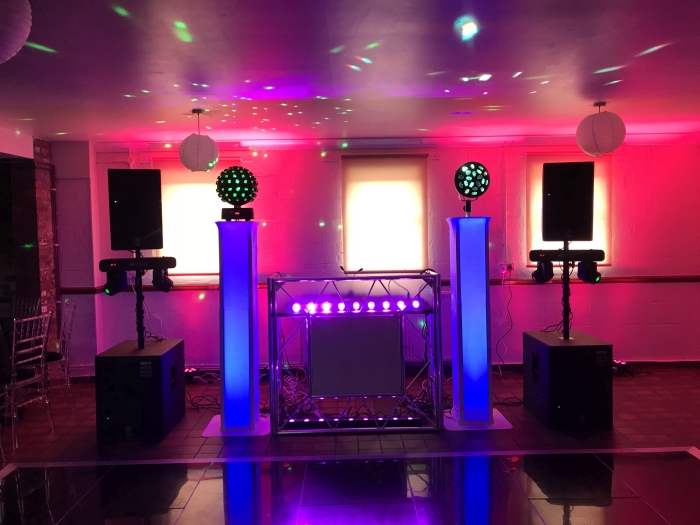 Marquee Wedding DJ Cheshire