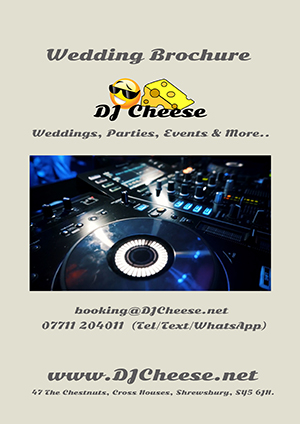 Wedding DJ Brochure