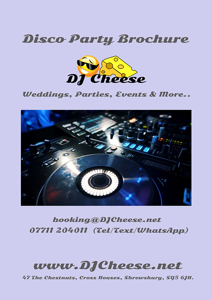 Disco DJ Brochure