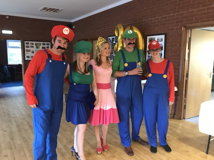 80s & 90s Themed Fancy Dress - 30th Birthday Party DJ