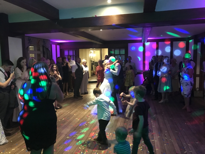 Goldstone Hall Wedding DJ - Father Daughter Dance