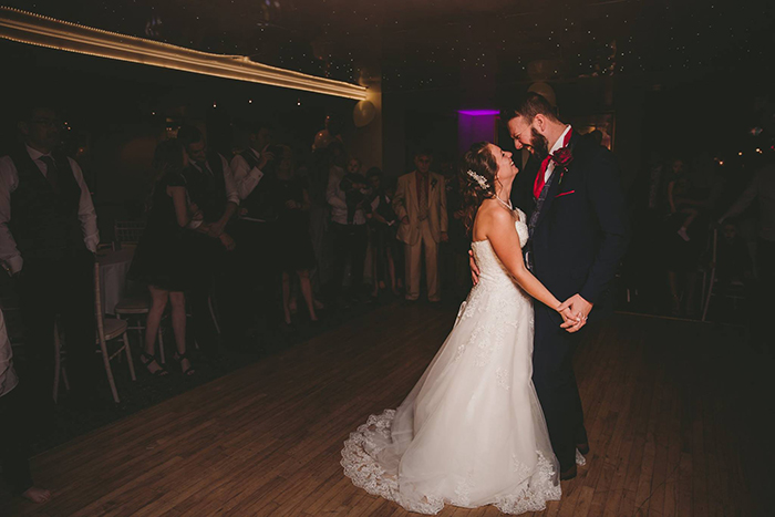 The First Dance Chainbridge Hotel Llangollen