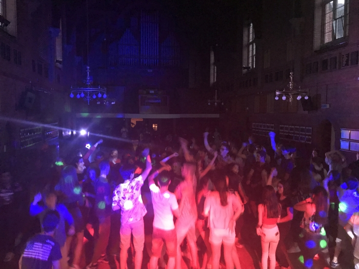 Ellesmere College Summer International Students Disco July 2018